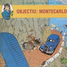 Cómics: JANUARY JONES. OBJECTIU MONTECARLO. ED. JOVENTUT 1991 1ª EDICIÓ.. Lote 244484735