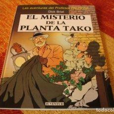 Cómics: PROFESOR PALMERA EL MISTERIO DE LA PLANTA TAKO DICK BRIEL JUVENTUD TAPA DURA. Lote 244535945