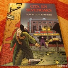 Cómics: CITA EN SEVENOAKS FLOC´H RIVIERE JUVENTUD TAPA DURA. Lote 244536440