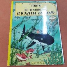 Cómics: LES AVENTURAS DE TINTIN - EL TESORO DE RACKHAM EL ROJO - JUVENTUD 16ª EDICIÓN 1986 - COB. Lote 244664815
