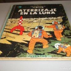 Cómics: JUVENTUD TINTIN 1 EDICION 1959 ATERRIZAJE EN LA LUNA. Lote 244768360