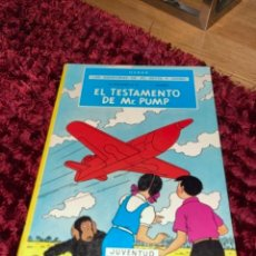Cómics: EL TESTAMENTO DE MR.PUMP-JO,ZETTE Y JOCKO-HERGÉ-JUVENTUD-2ª EDICIÓN-AÑO 1974-TAPA DURA. Lote 244790500