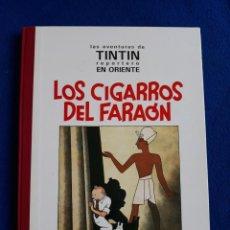 Cómics: LOS CIGARROS DEL FARAÓN - LAS AVENTURAS DE TINTIN REPORTERO EN ORIENTE - JUVENTUD, 1992. 1ª EDICIÓN. Lote 244839330