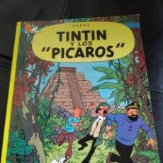Cómics: BOOK LIBRO TINTÍN Y LOS PÍCAROS. Lote 244870945
