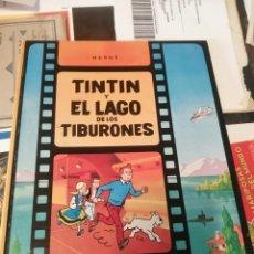 Comics : HERGE - TINTIN Y EL LAGO DE LOS TIBURONES - ED JUVENTUD 1974 1ª PRIMERA EDICION - EN MUY BUEN ESTADO. Lote 245018245