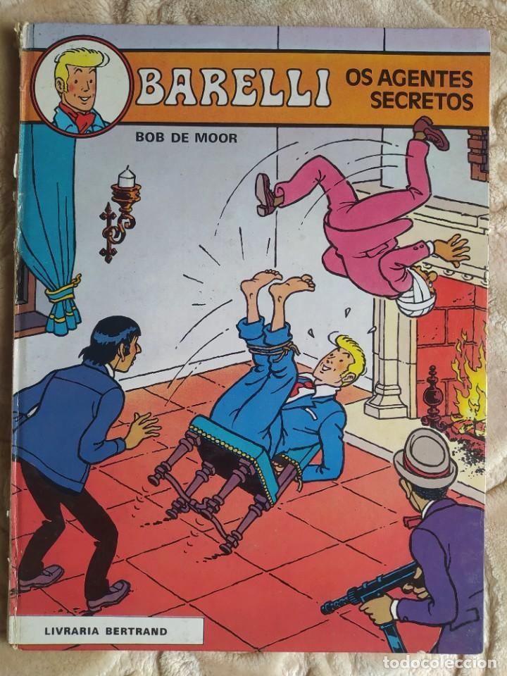 BARELLI - OS AGENTES SECRETOS - BOB DE MOOR - LIVRARIA BERTRAND - EDICIÓN EN PORTUGUÉS (Tebeos y Comics - Juventud - Barelli)