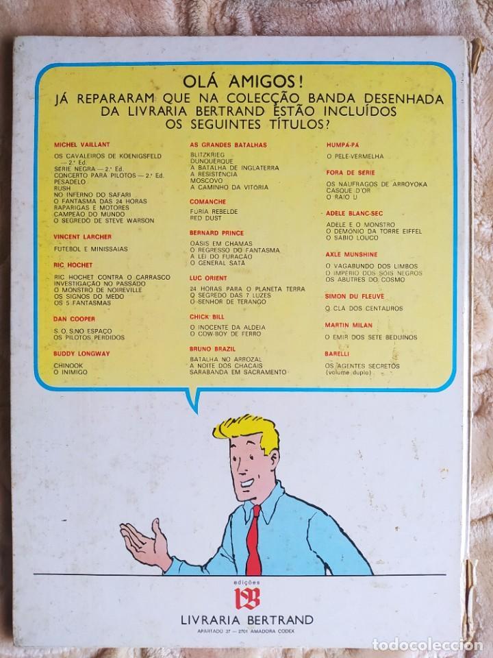 Cómics: Barelli - Os Agentes Secretos - Bob de Moor - Livraria Bertrand - Edición en Portugués - Foto 2 - 245054525