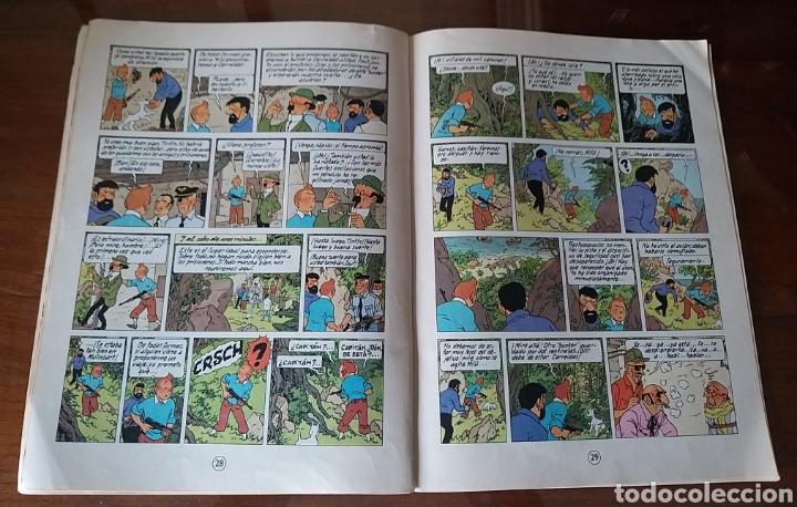 Cómics: LAS AVENTURAS DE TINTÍN. VUELO 714 PARA SIDNEY. SEXTA EDICIÓN. 1982. EDITORIAL JUVENTUD. - Foto 3 - 245281045
