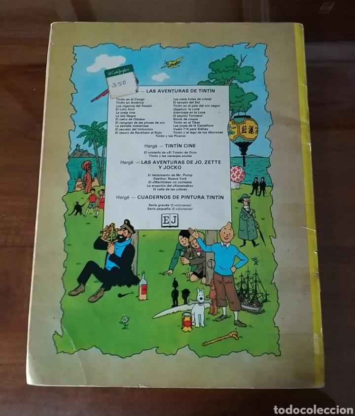 Cómics: LAS AVENTURAS DE TINTÍN. VUELO 714 PARA SIDNEY. SEXTA EDICIÓN. 1982. EDITORIAL JUVENTUD. - Foto 4 - 245281045