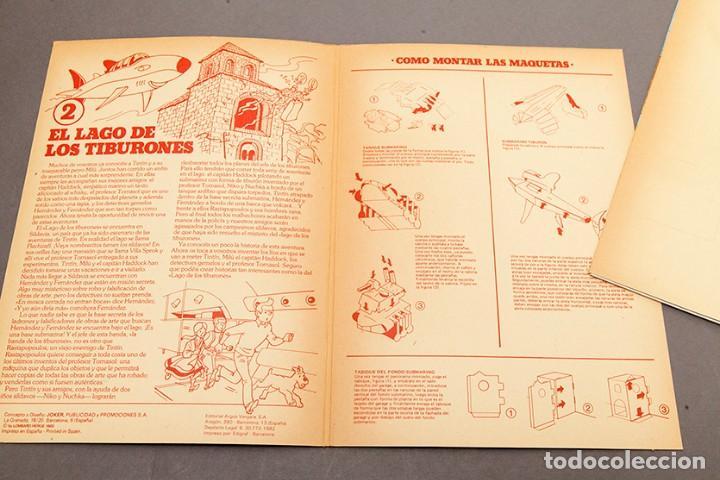 Cómics: TINTIN - CALCOMIC - LAGO DE LOS TIBURNES - Foto 3 - 245385565