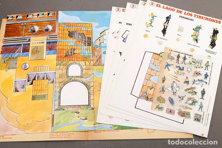 Cómics: TINTIN - CALCOMIC - LAGO DE LOS TIBURNES - Foto 4 - 245385565