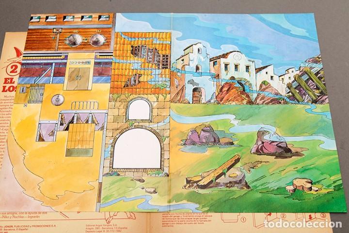 Cómics: TINTIN - CALCOMIC - LAGO DE LOS TIBURNES - Foto 5 - 245385565