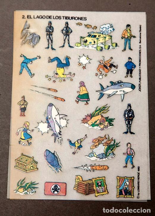 Cómics: TINTIN - CALCOMIC - LAGO DE LOS TIBURNES - Foto 6 - 245385565