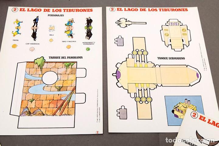 Cómics: TINTIN - CALCOMIC - LAGO DE LOS TIBURNES - Foto 7 - 245385565