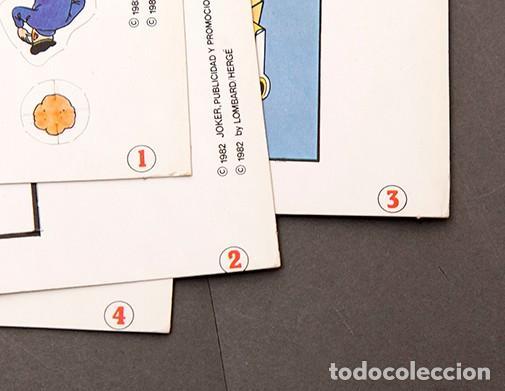 Cómics: TINTIN - CALCOMIC - LAGO DE LOS TIBURNES - Foto 9 - 245385565
