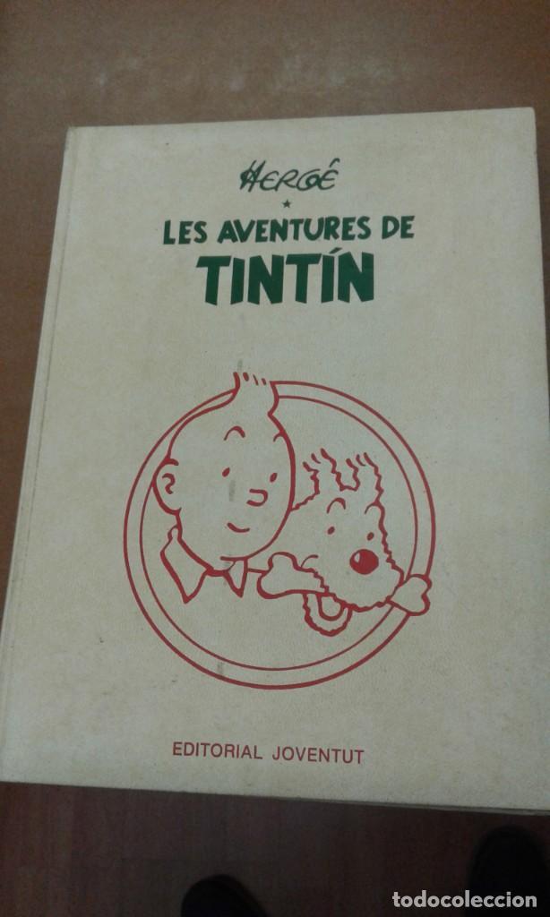 LES AVENTURES DE TINTIN. HERGE. EDITORIAL JOVENTUT TOMO 1 (Tebeos y Comics - Juventud - Tintín)