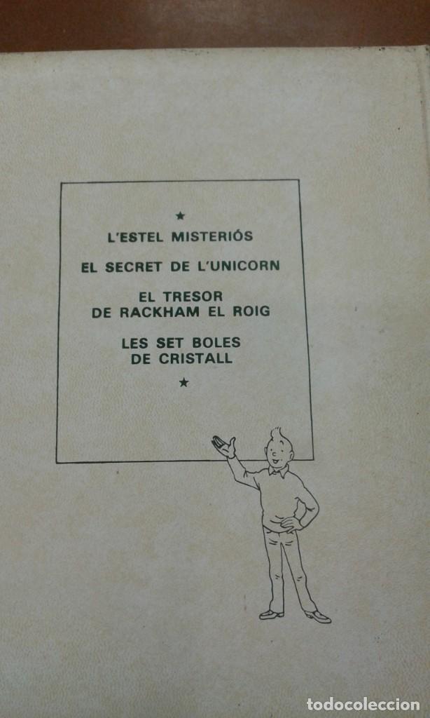 Cómics: Les aventures de TINTIN. Herge. tomo 3 editorial Joventut - Foto 3 - 245393085