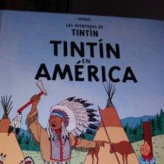 Cómics: TINTÍN EN AMÉRICA. EDICIÓN CASTERMAN. PANINI. Lote 245723530