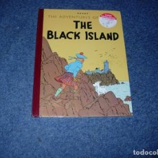 Cómics: TINTIN IDIOMAS - LA ISLA NEGRA / THE BLACK ISLAND VERSION 1943 INGLES. Lote 245966560