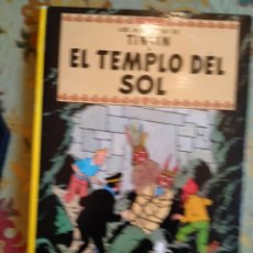 Cómics: TINTÍN EL TEMPLO DEL SOL 3A EDICIÓN 1975. Lote 246292225