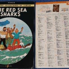 Cómics: THE RED SEA SHARKS - THE ADVENTURES OF TINTIN Nº 18 - EDICIONES DEL PRADO (1984). Lote 246355935