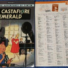 Cómics: THE CASTAFIORE EMERALD - THE ADVENTURES OF TINTIN Nº 17 - EDICIONES DEL PRADO (1984). Lote 246356010