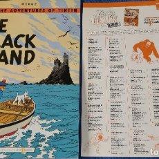 Cómics: THE BLACK ISLAND - THE ADVENTURES OF TINTIN Nº 15 - EDICIONES DEL PRADO (1984). Lote 246356185