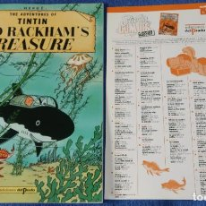 Cómics: RED RACKHAM'S TREASURE - THE ADVENTURES OF TINTIN Nº 07 - EDICIONES DEL PRADO (1984). Lote 246356665