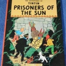 Cómics: PRISONERS OF THE SUN - THE ADVENTURES OF TINTIN Nº 02 - EDICIONES DEL PRADO (1984). Lote 246356925