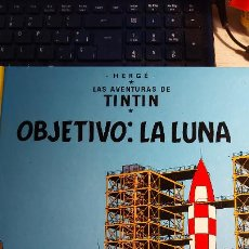 Cómics: LAS AVENTURAS DE TINTIN OBJETIVO.LA LUNA. Lote 246892540