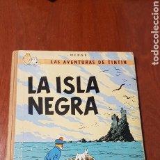 Cómics: COMIC TINTIN LA ISLA NEGRA JUVENTUD + 2 COMICS REGALO. Lote 247568655