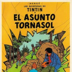 "Cómics: LAMINA EDITORIAL JUVENTUD ""TINTIN EL ASUNTO TORNASOL"". Lote 247742810"
