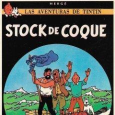 "Cómics: LAMINA EDITORIAL JUVENTUD ""TINTIN STOCK DE COQUE"". Lote 247742985"