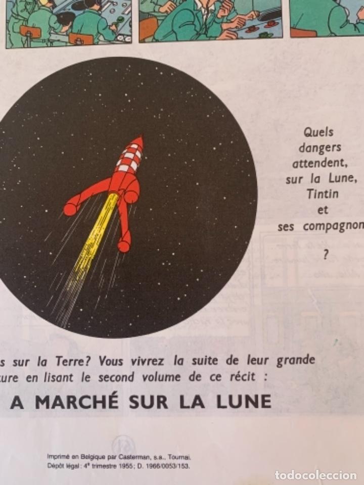 Cómics: Les aventures de Tintín, Objectif Lune, imprimé 1981 - Foto 2 - 248739130