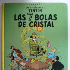 Comics: TINTIN. LAS SIETE BOLAS DE CRISTAL. HERGÉ. 1985. Lote 250118240