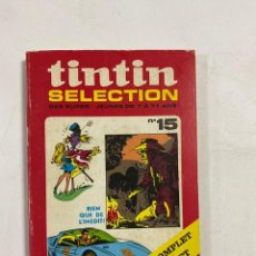 Comics : TINTIN SELECTION. Nº 15. UN ROMAN COMPLET DE RIC HOCHET. DES SUPER-JEUNES DE 7 A 77 ANS. EN FRANCES. Lote 250133325