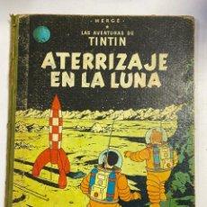 Cómics: LAS AVENTURAS DE TINTIN. ATERRIZAJE EN LA LUNA. EDITORIAL JUVENTUD. HERGÉ. Lote 250143055