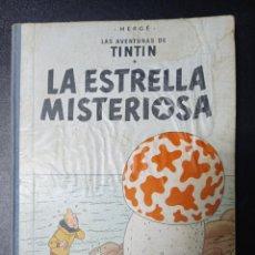 Cómics: TINTIN LA ESTRELLA MISTERIOSA 1 PRIMERA EDICION. Lote 250246490