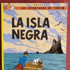 Cómics: LA ISLA NEGRA ** LAS AVENTURAS DE TINTIN. Lote 251865175