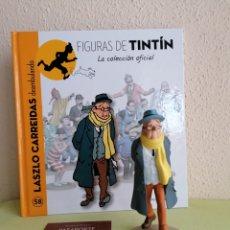 Cómics: FIGURA COLECCIÓN TINTIN -LAZLO CARREIDAS DEAMBULANDO- Nº 58. Lote 252591145