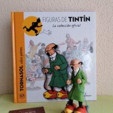 Cómics: FIGURA COLECCIÓN TINTIN -TORNASOL SOBRE PATINES- Nº 57. Lote 252590410