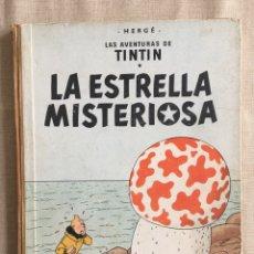 Cómics: TINTÍN - LA ESTRELLA MISTERIOSA. PRIMERA EDICIÓN 1960. Lote 253173465