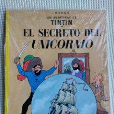 Cómics: TINTIN EL SECRETO DEL UNICORNIO, EDITORIAL JUVENTUD TAPA BLANDA PLASTIFICADO. Lote 253174390