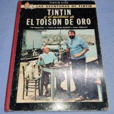 Cómics: TINTIN Y EL MISTERIO DE EL TOISON DE ORO DE HERGE EDITORIAL JUVENTUD AÑO 1968 2ª EDICION LOMO ROJO. Lote 253319410