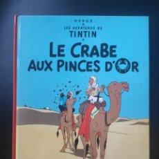 """Comics : ALBUM DE TINTÍN EN FRANCÉS - """"LE CRABE AUX PINCES DOR"""" - 1981. Lote 253338750"""