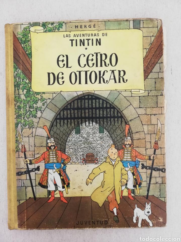 LAS AVENTURAS DE TINTIN EL CETRO DE OTTOKAR JUVENTUD (Tebeos y Comics - Juventud - Tintín)