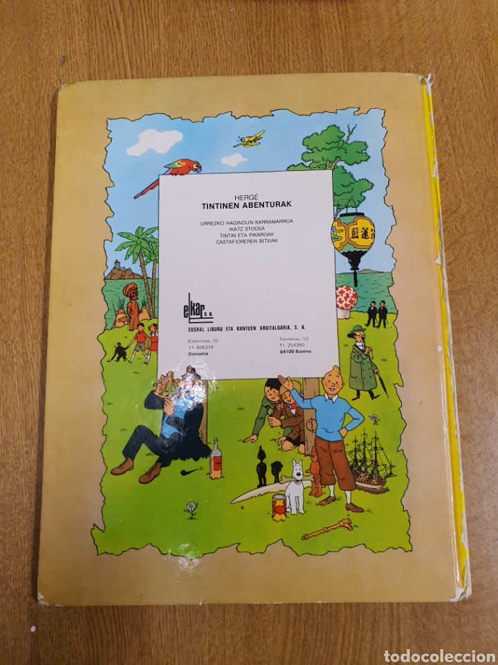 Cómics: Tintin , Castafioreren Bitxiak , Elkar - Foto 3 - 253617990