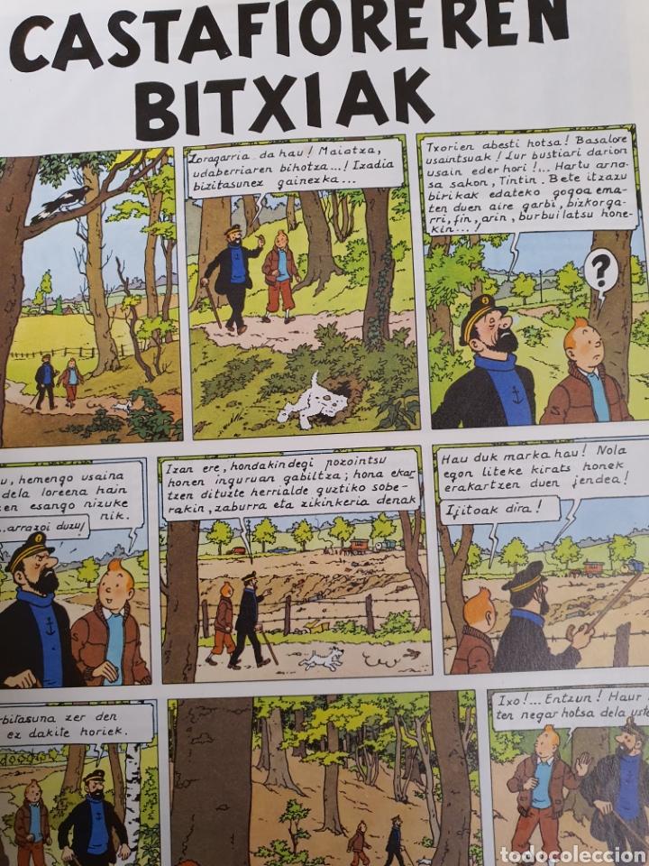 Cómics: Tintin , Castafioreren Bitxiak , Elkar - Foto 7 - 253617990