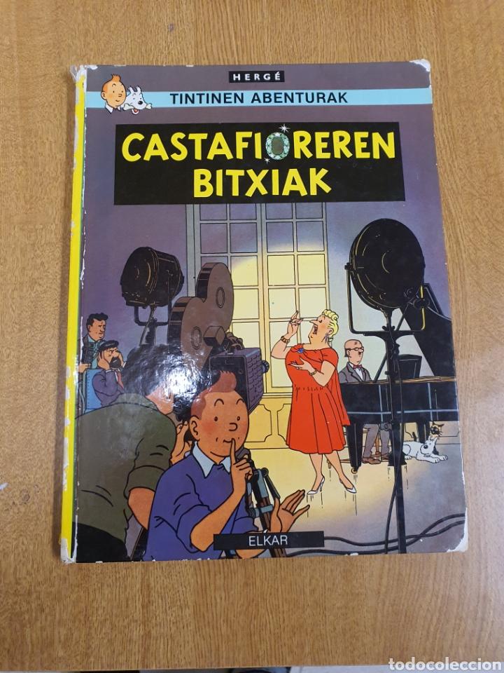 TINTIN , CASTAFIOREREN BITXIAK , ELKAR (Tebeos y Comics - Juventud - Tintín)