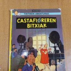 Cómics: TINTIN , CASTAFIOREREN BITXIAK , ELKAR. Lote 253617990